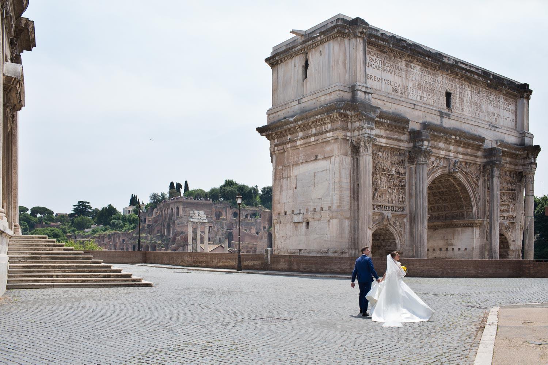 nf-Fotografo-Matrimonio-Roma-CE-foto-matrimonio-al-Foro-Romano-3
