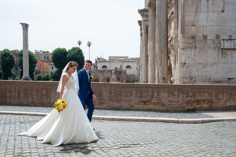 nf-Fotografo-Matrimonio-Roma-CE-foto-matrimonio-al-Foro-Romano-5