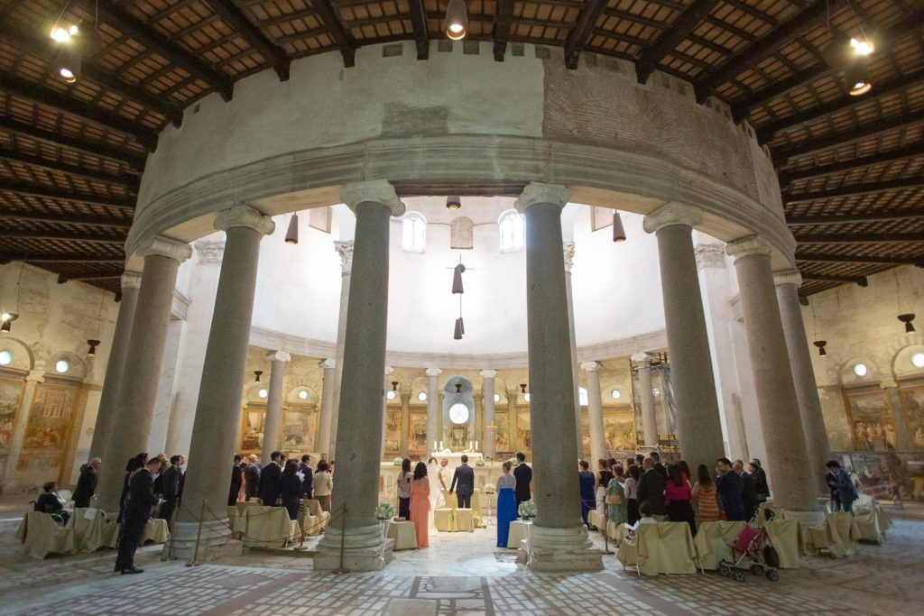 nf-Fotografo-Matrimonio-Roma-Basilica-di-Santo-Stefano-Rotondo