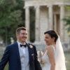 Fotografie di matrimonio al laghetto di Villa Borghese
